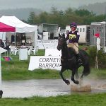 Lady Brave eventing