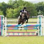 Bedazzlayre showjumping. Photo credit Sinclair Photography