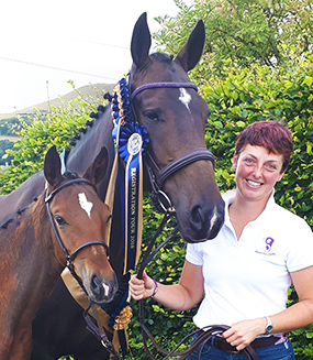 Joanna Heaton, owner and trainer at Balanced Equine